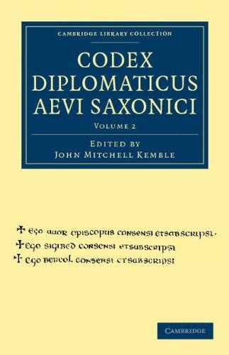 Codex Diplomaticus Aevi Saxonici