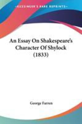 An Essay On Shakespeare