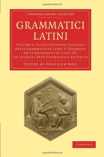 Grammatici Latini 9781108006361