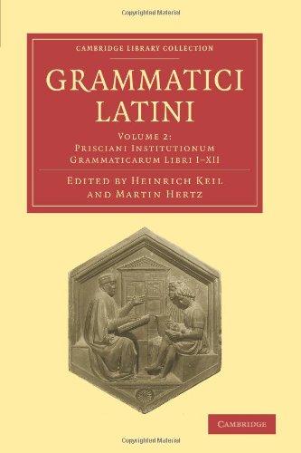 Grammatici Latini 9781108006378