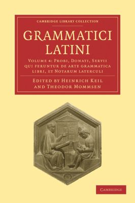 Grammatici Latini 9781108006392