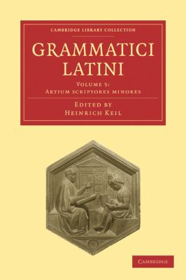 Grammatici Latini 9781108006408