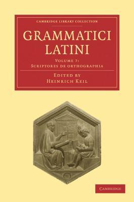 Grammatici Latini 9781108006422