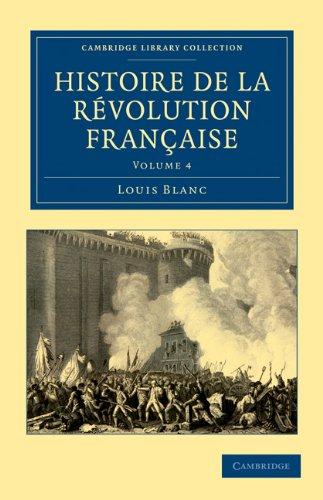 Histoire de La Revolution Francaise 9781108035095