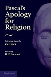 Pascal's Apology for Religion: Extracted from the Pensees 20343027