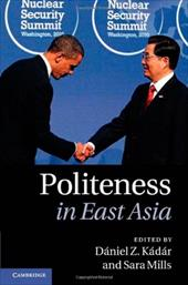Politeness in East Asia 12989477