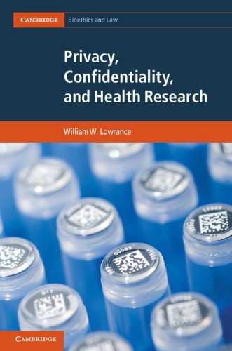 Privacy, Confidentiality, and Health Research 9781107020870