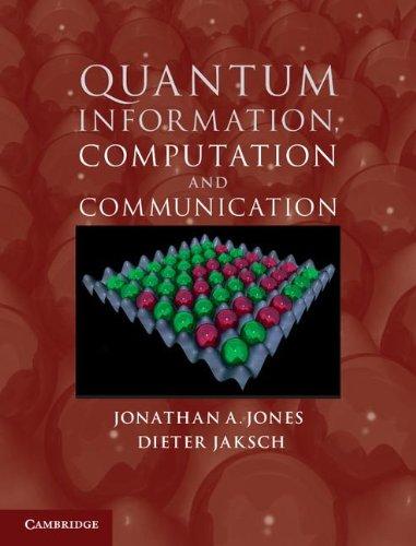 Quantum Information, Computation and Communication 9781107014466