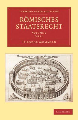 Romisches Staatsrecht 9781108009904