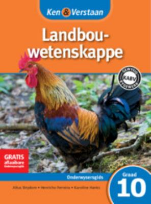 Study and Master Agricultural Sciences Grade 10 Caps Teacher's File Afrikaans Translation 9781107698918