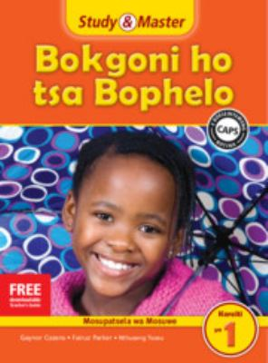 Study and Master Life Skills Grade 1 Caps Teacher's File Sesotho Translation 9781107602168