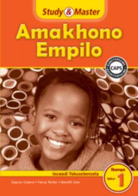 Study and Master Life Skills Grade 1 Caps Workbook Isizulu Translation 9781107642225