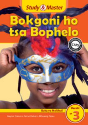 Study and Master Life Skills Grade 3 Caps Learner's Book Sesotho Translation 9781107676152