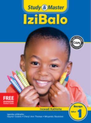 Study and Master Mathematics Grade 1 Caps Teacher's File Isizulu Translation 9781107659827