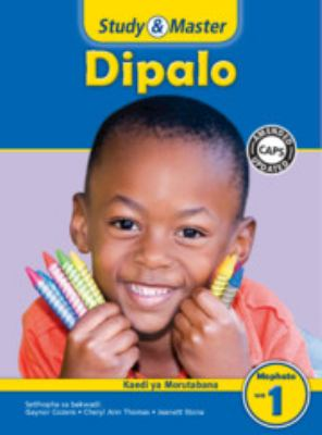 Study and Master Mathematics Grade 1 Caps Teacher's File Setswana Translation 9781107641075