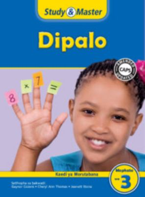 Study and Master Mathematics Grade 3 Caps Teacher's File Setswana Translation 9781107672789