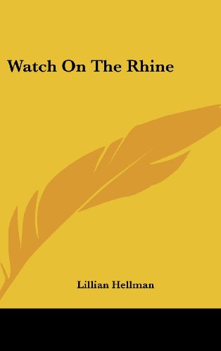 Watch on the Rhine 9781104850784