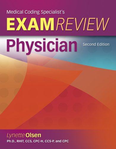 Medical Coding Specialist's Exam Review: Physician [With CDROM] 9781111131760