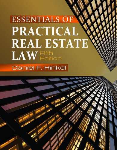 Essentials of Practical Real Estate Law 9781111136932