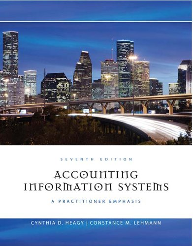 Accounting Information Systems: A Practitioner Emphasis 9781111219512