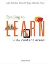 Reading to Learn in the Content Areas 12725051