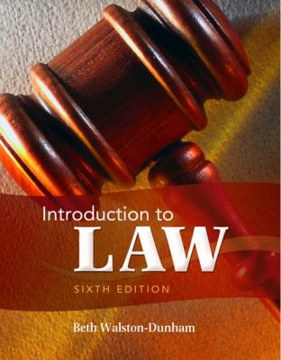 Introduction to Law 9781111311896
