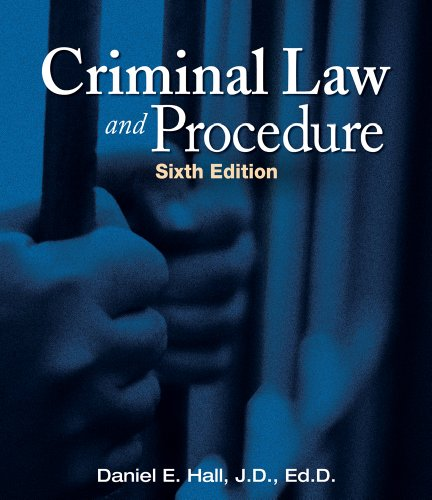 Criminal Law and Procedure 9781111312725