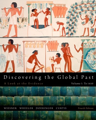 Discovering the Global Past, Volume I 9781111341428