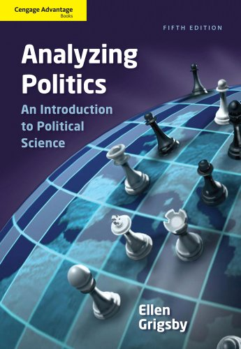 Analyzing Politics: An Introduction to Political Science 9781111342777