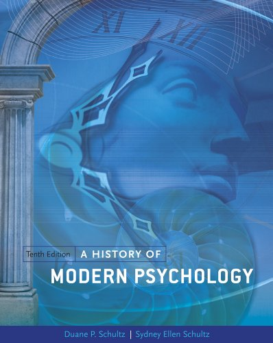 A History of Modern Psychology 9781111344979