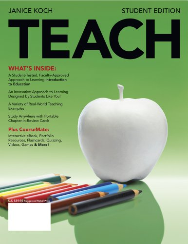 Teach (with Review Card and Education Coursemate with eBook Printed Access Card) 9781111349110