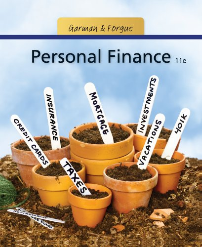 Personal Finance 9781111531010
