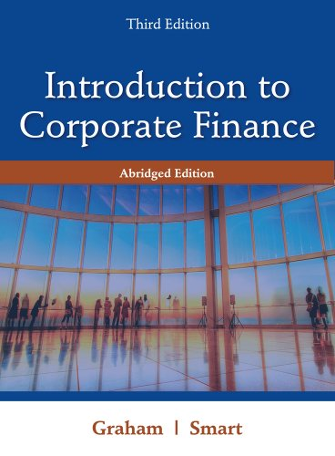 Introduction to Corporate Finance [With Access Code] 9781111532611