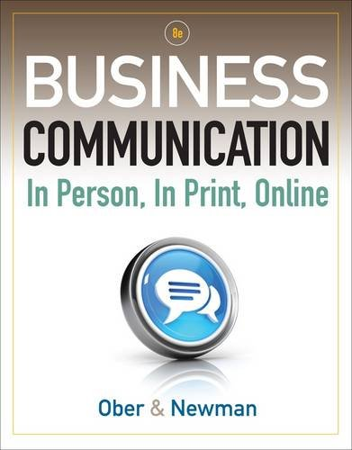 Business Communication: In Person, in Print, Online 9781111533168