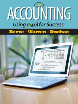 Accounting Using Excel for Success (with Essential Resources Excel Tutorials Printed Access Card) 9781111535216