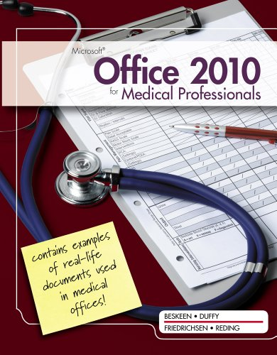 Microsoft Office 2010 for Medical Professionals 9781111820992