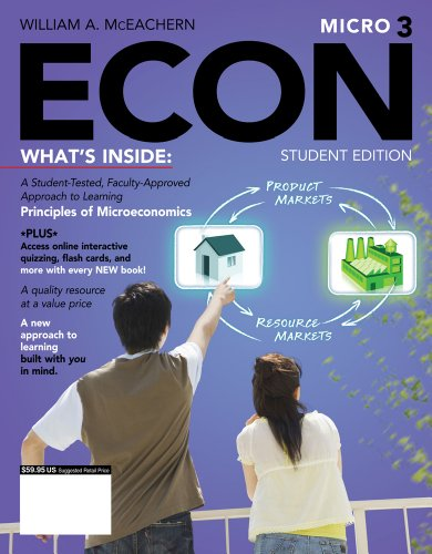 Econ Micro3 (with Economics Coursemate with eBook Printed Access Card) 9781111822217