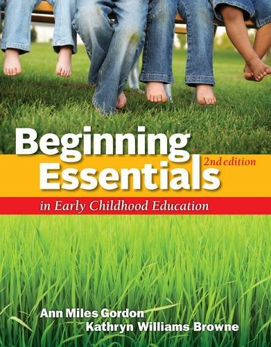 Beginning Essentials in Early Childhood Education 9781111830830