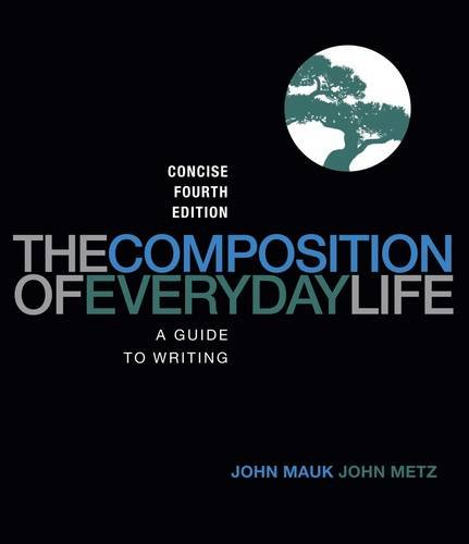 The Composition of Everyday Life, Concise Edition 9781111840518