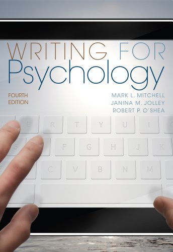 Writing for Psychology - 4th Edition