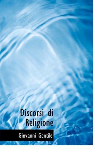 Discorsi Di Religione 9781117978024