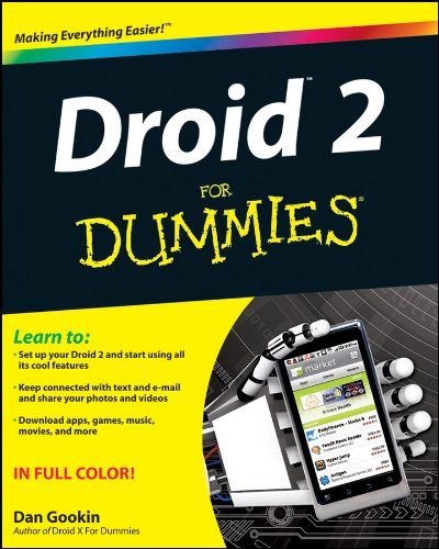 Droid 2 for Dummies 9781118002865