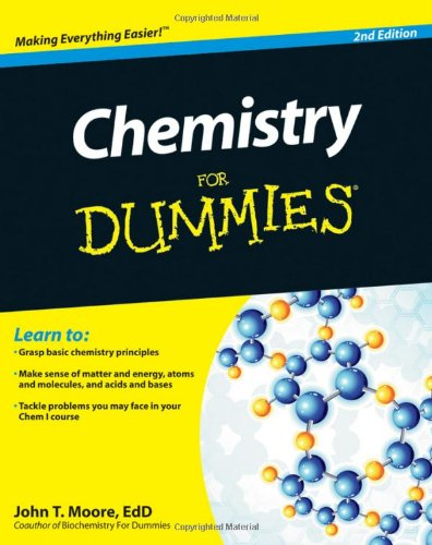 Chemistry for Dummies 9781118007303