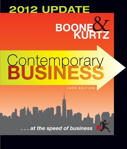 Contemporary Business: 2012 Update 9781118010303