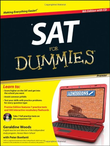 SAT for Dummies [With CDROM] 9781118026076