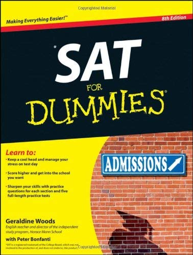 SAT for Dummies 9781118026083