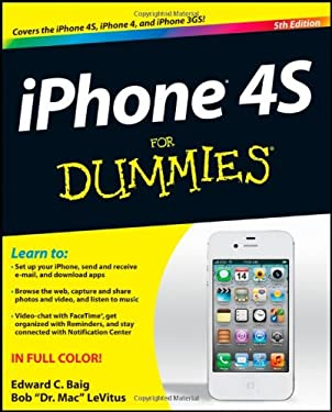 iPhone 4S for Dummies 9781118036716