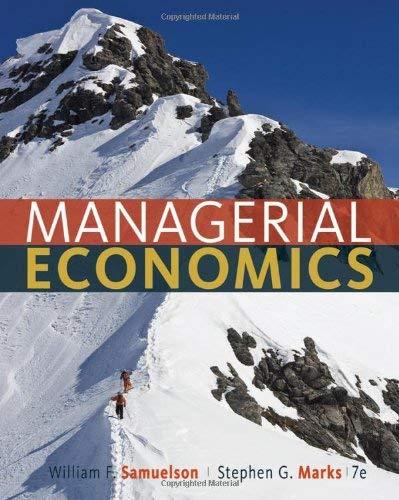 Managerial Economics 9781118041581