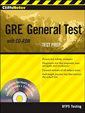 Cliffsnotes GRE General Test [With CDROM] 9781118057605