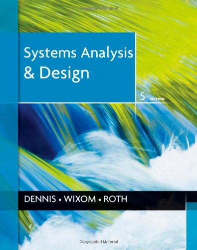 Systems Analysis and Design - 5th Edition